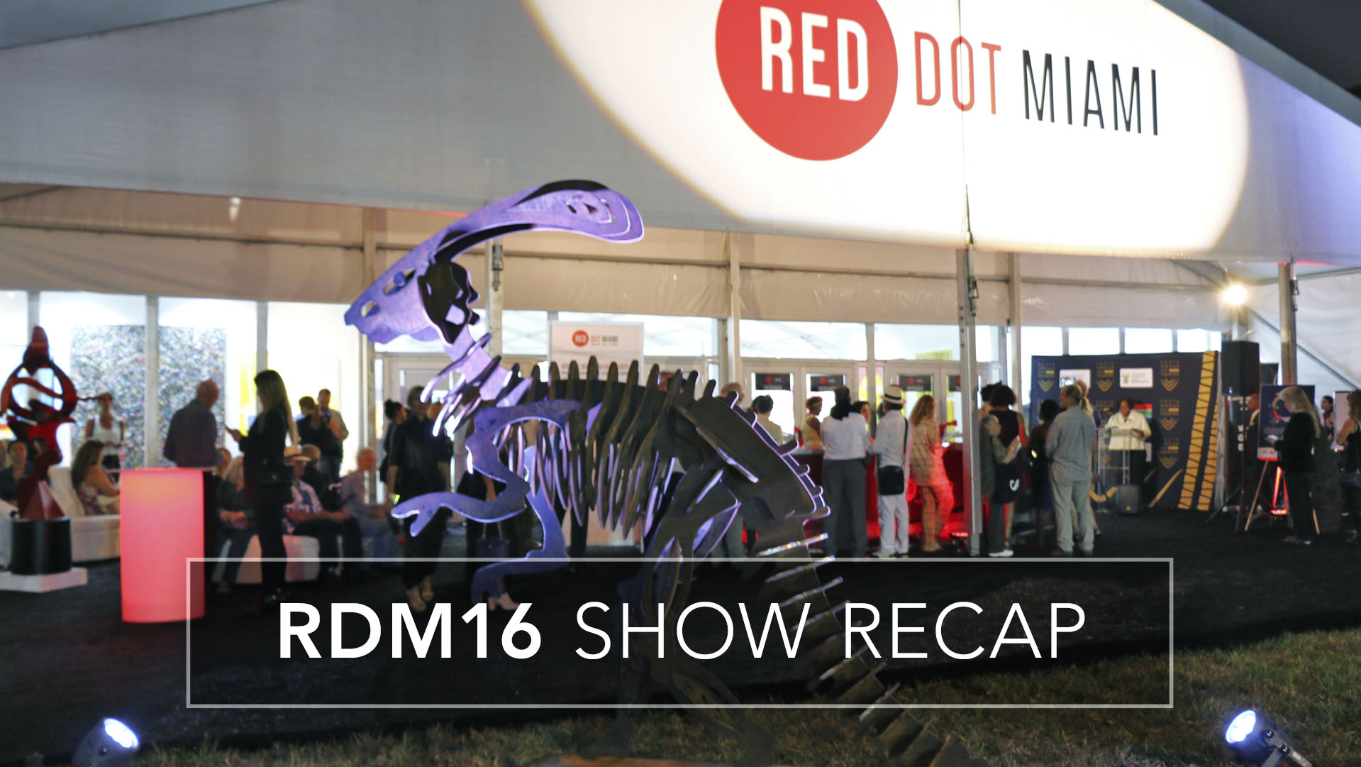 Red Dot Miami 2016 Show Recap