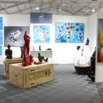 The colorful works at Imagine-Art