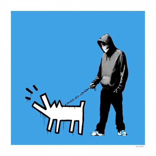 Gallery Art | Barking Dog – Banksy