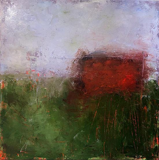 Ellen Hallie Schiff, Full Frontal Red | Studio Jackie