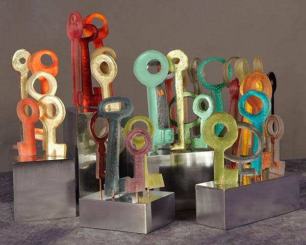 Kelly Milukas, Key Stroma Sculptures | Studio Jackie