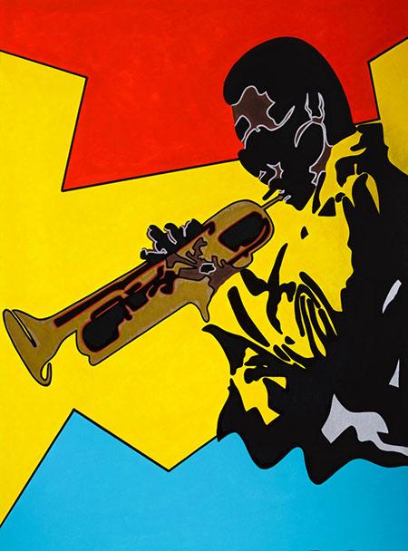 Tysen Knight, Miles Davis in Colors | Studio Jackie