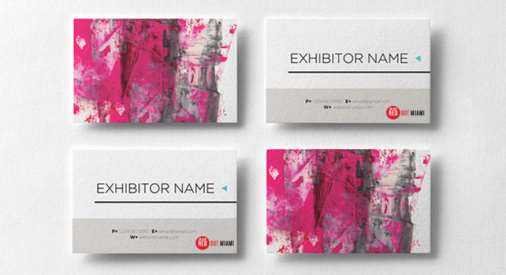 Business Card Red Dot Miami Dec 48 2019